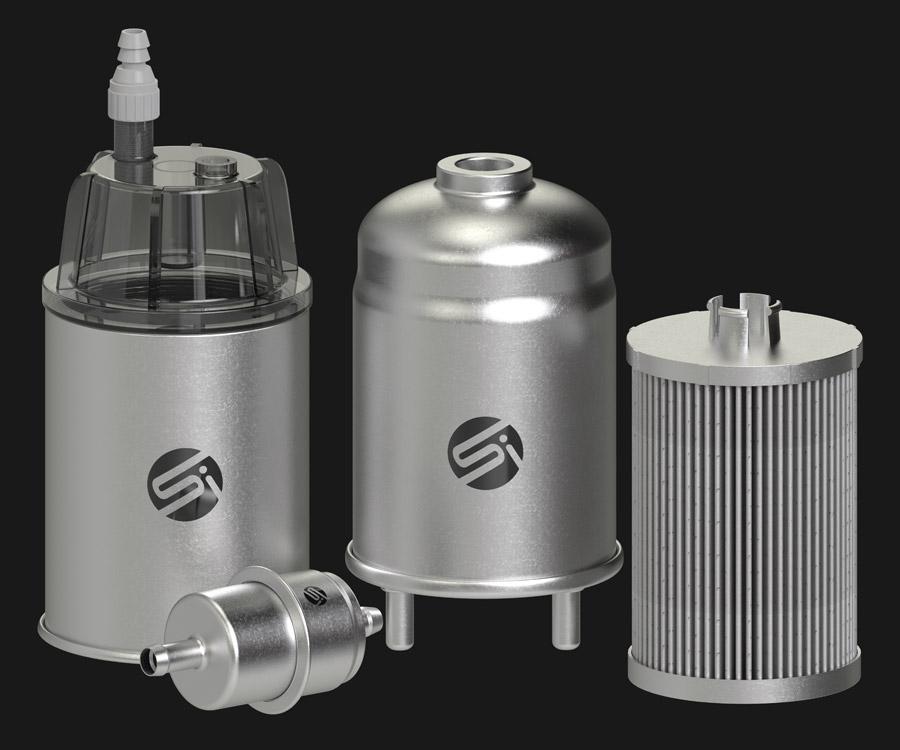 Fuel Filter Group Shot