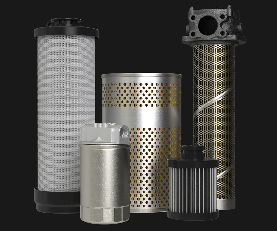Hydraulic Filter Group shot
