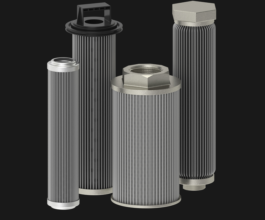 Group shot of Sintered Filters