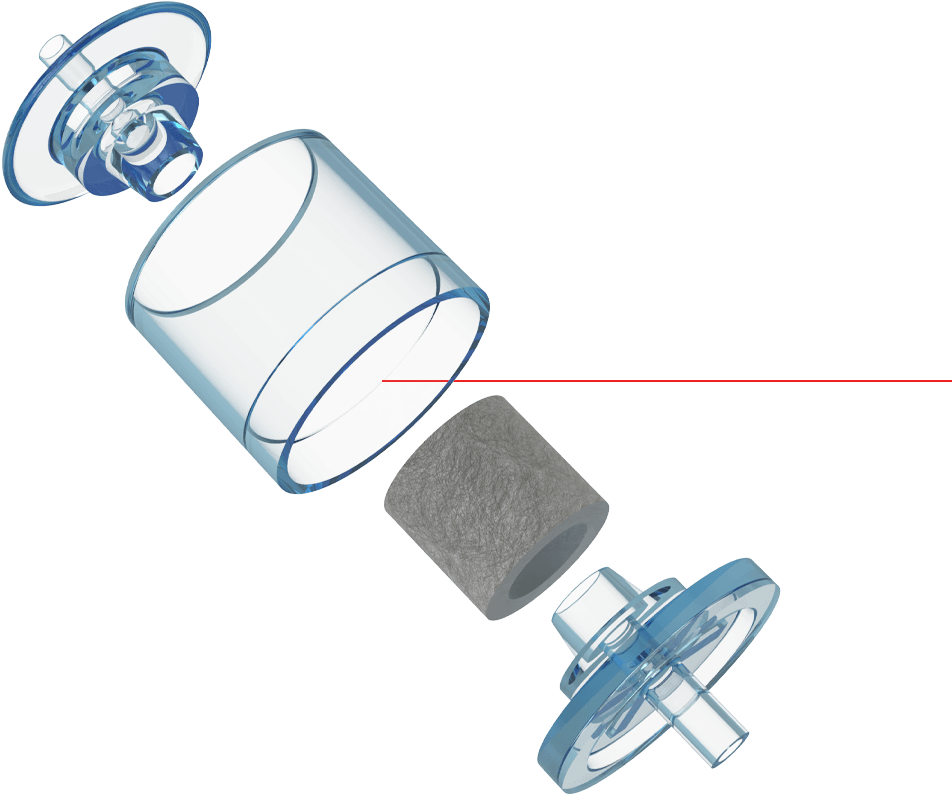 Exploded Capsule Filter